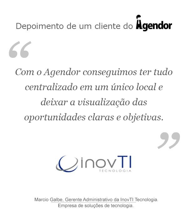Case de sucesso com o Agendor: InovTI Tecnologia