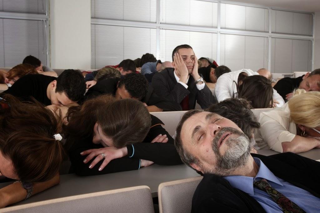 Não deixe as pessoas dormirem no meio da sua apresentação