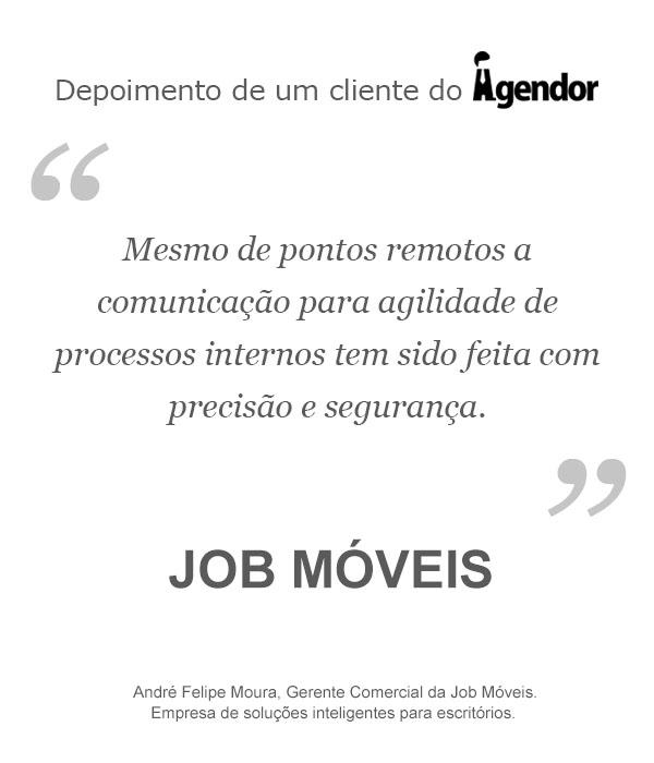 Case de sucesso do Agendor: Job Móveis