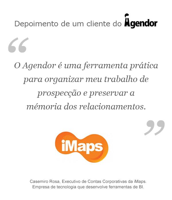 Case de sucesso do Agendor: iMaps
