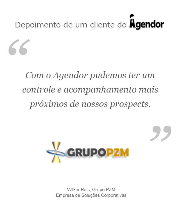 Case de sucesso do Agendor: Grupo PZM