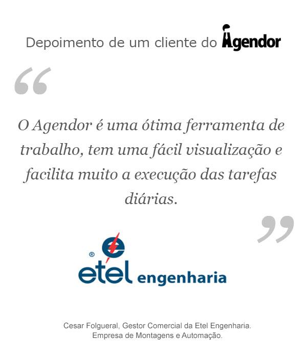 Case de Sucesso do Agendor: Etel Engenharia