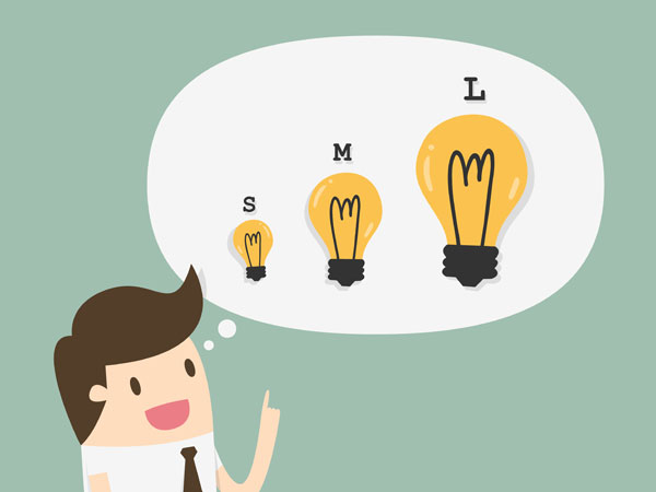 Diferentes portes de empresas necessitam de características diferentes em seus sistemas de CRM