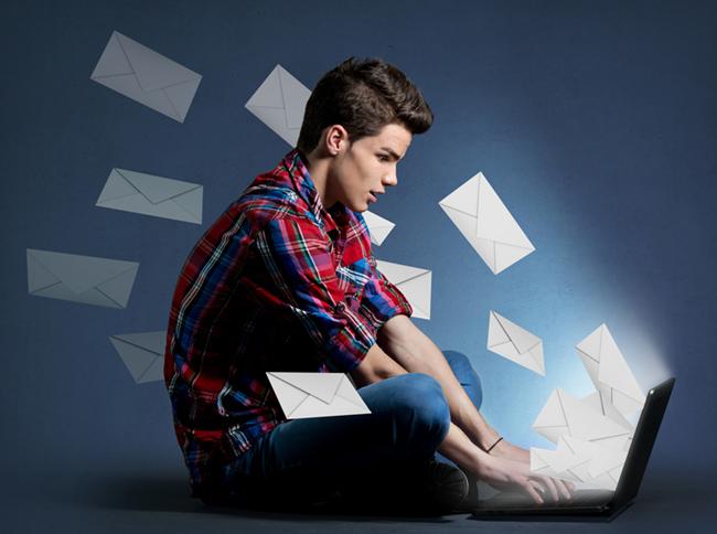 Um bom e-mail comercial deve ser curto e objetivo.