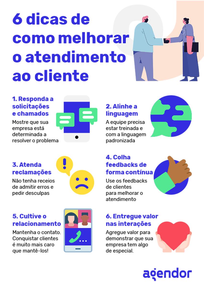 6 dicas de como melhorar o atendimento ao cliente