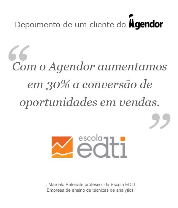 Case de sucesso com o Agendor: Escola EDTI