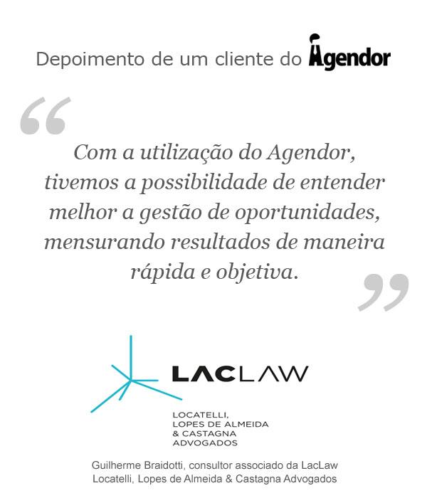 Case de sucesso com o Agendor: LacLaw