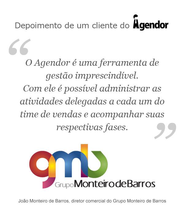 Case de sucesso com o Agendor: Grupo Monteiro de Barros