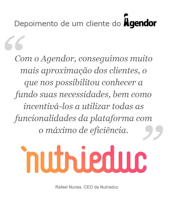 Case de sucesso com o Agendor: Nutrieduc