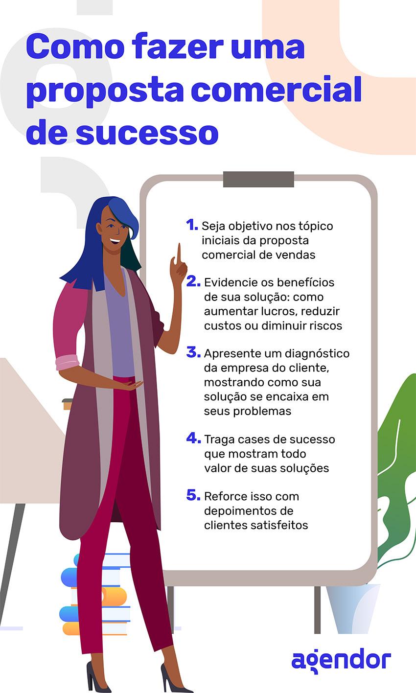 Como fazer uma proposta comercial de sucesso