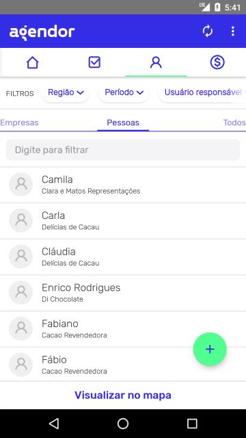 App de cadastro de cliente